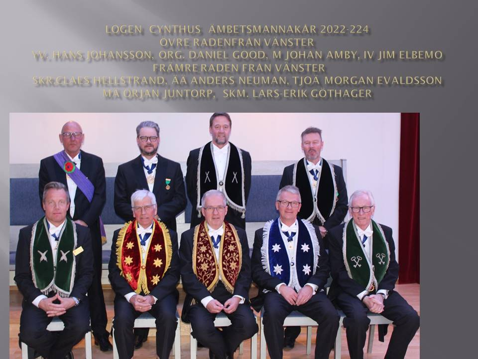 Ämbetsmannakåren 2018-2020